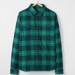 NWT Hanna Andersson Men's Festive Family Flannel M